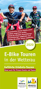 E-Bike-Touren in der Wetterau